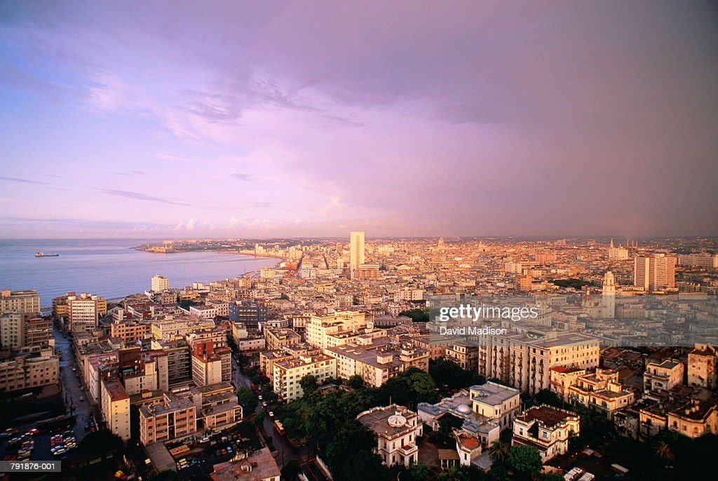 Cuba,Havana,panorama of city : Foto de stock
