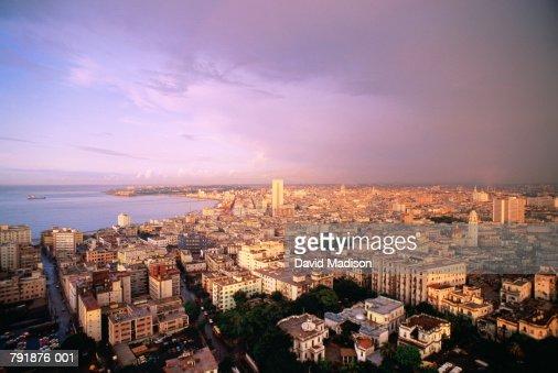 Cuba,Havana,panorama of city : Foto de stock