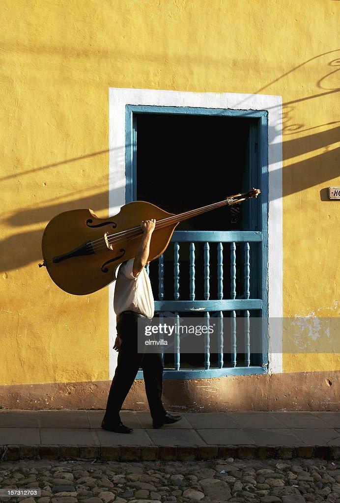 Cuban bass player