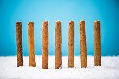 Cuban Cigars in snow, Christmas gif idea.