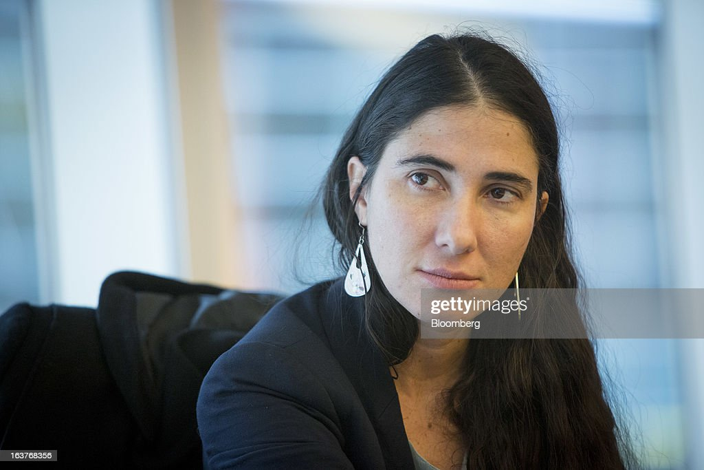 Cuban dissident <a gi-track='captionPersonalityLinkClicked' href=/galleries/search?phrase=Yoani+Sanchez&family=editorial&specificpeople=5329857 ng-click='$event.stopPropagation()'>Yoani Sanchez</a> speaks during an interview in New York, U.S., on Friday, March 15, 2013. Sanchez embarked on her first trip abroad in five years last month, arriving in Brazil a month after travel restrictions were eased by the communist government that is keeping tabs on her visit. Photographer: Scott Eells/Bloomberg via Getty Images