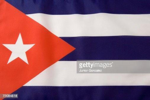 Cuban Flag : Stock Photo
