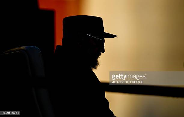 Cuban former President Fidel Castro gives a speech on September 3 at Havana's University Castro talked to the students about the possibility of a...
