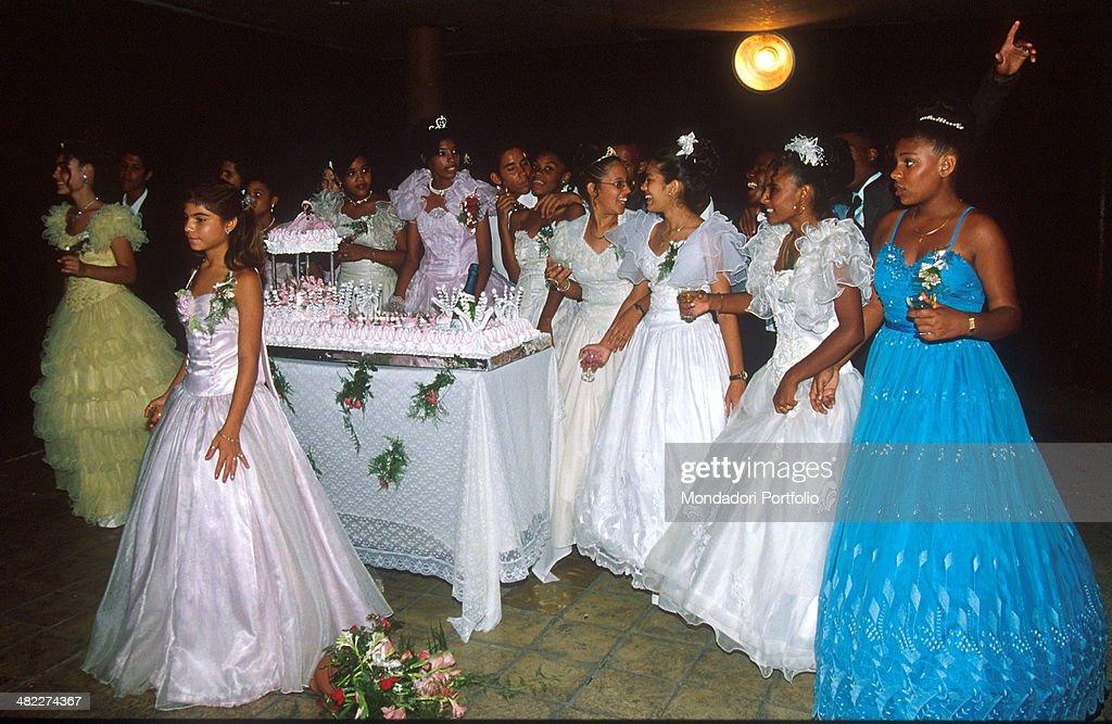Cuban Party Dresses