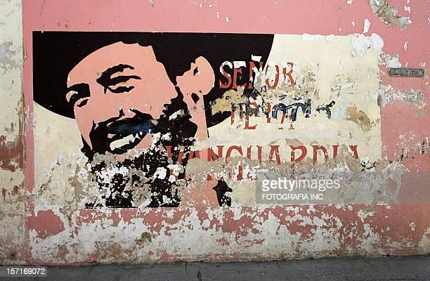 キューバの壁画