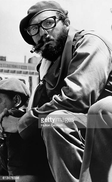 Cuban Revolutionary Leader Fidel Castro 1962