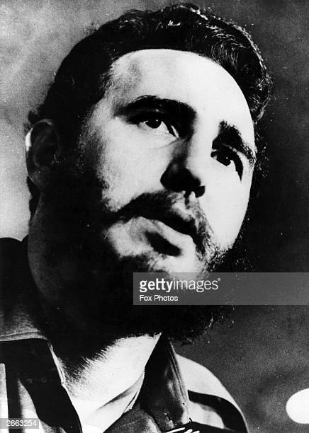 Cuban revolutionary leader Fidel Castro