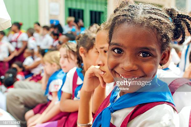 Kubanische Schulkinder