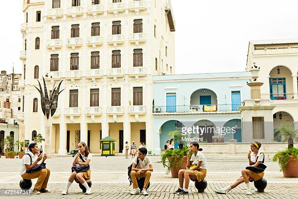 Kubanische Studenten
