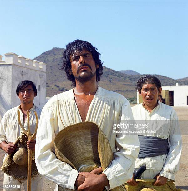 CubanAmerican actor Tomas Milian dressed as a Mexican in a scene of Tepepa 1968