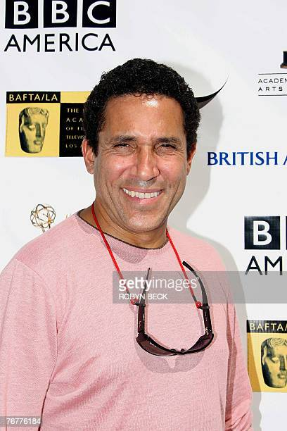 Cubanborn actor Oscar Nunez arrives for a preEmmy Awards tea party hosted by the British Academy of Film Television Arts/Los Angeles and the Academy...
