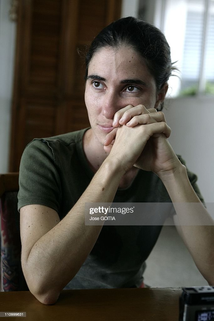 Cuba's most popular blogger <a gi-track='captionPersonalityLinkClicked' href=/galleries/search?phrase=Yoani+Sanchez&family=editorial&specificpeople=5329857 ng-click='$event.stopPropagation()'>Yoani Sanchez</a> ,32 won an award for best digital journalism at the Ortega y Gasset Journalism Awards, created by the Spanish newspaper EL PAIS in Havana, France in November, 2007 - <a gi-track='captionPersonalityLinkClicked' href=/galleries/search?phrase=Yoani+Sanchez&family=editorial&specificpeople=5329857 ng-click='$event.stopPropagation()'>Yoani Sanchez</a> writes a blog called 'Generacio