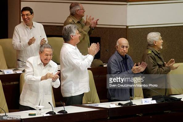 Cuban National Assembly Session : News Photo