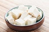 cubes of tofu
