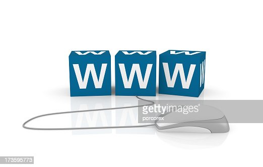 WWW Cubes with Computer Mouse