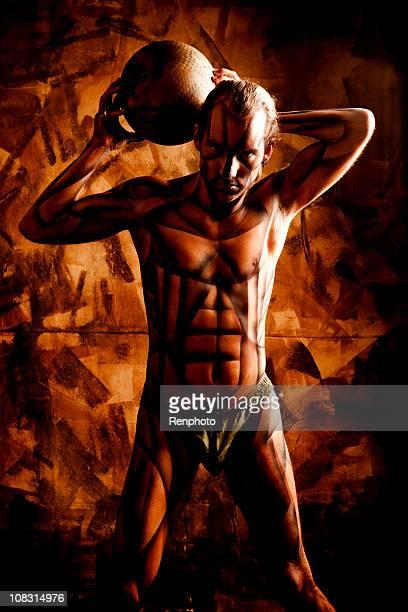 Kubismus Body Paint