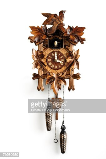 Cuckoo clock, close-up