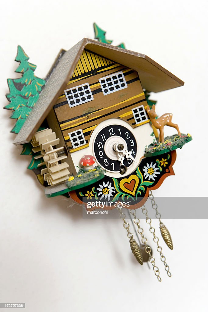 Cuckoo clock stock photo getty images - Funky cuckoo clock ...