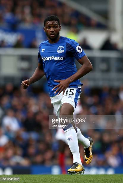 Cuco Martina of Everton during the Premier League match between Everton and Stoke City at Goodison Park on August 12 2017 in Liverpool England