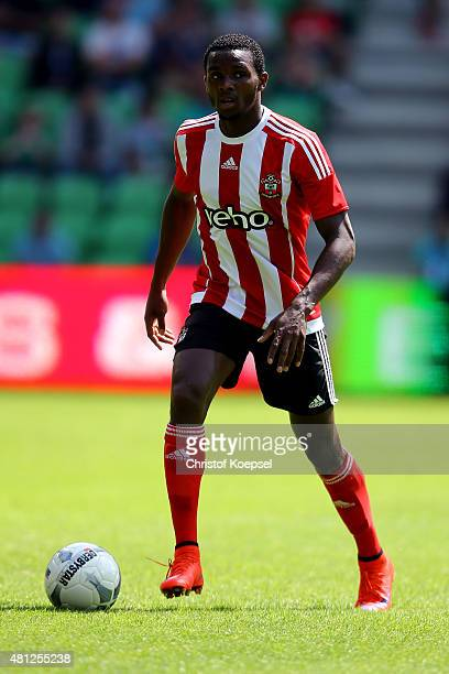 Cuco Martina of FC Southampton runs with the ball during the friendly match between FC Groningen and FC Southampton at Euroborg Arena on July 18 2015...