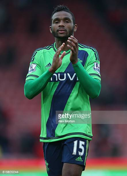 Cuco Martina of Southampton during the Barclays Premier League match between Stoke City and Southampton at Britannia Stadium on March 12 2016 in...