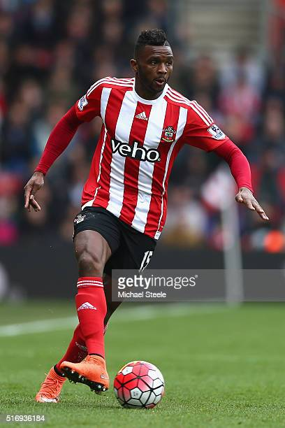 Cuco Martina of Southampton during the Barclays Premier League match between Southampton and Liverpool at St Mary's Stadium on March 20 2016 in...