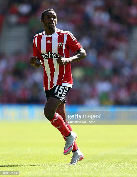 Cuco Martina of Southampton during the preseason friendly between Southampton and Espanyol at St Mary's Stadium on August 2 2015 in Southampton...