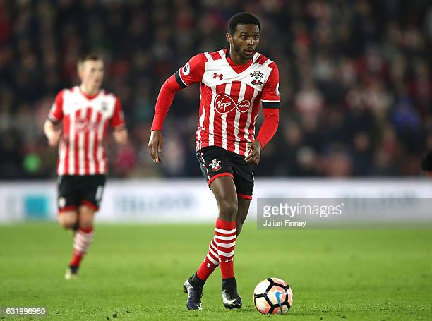 Cuco Martina of Southampton in action during The Emirates FA Cup Third Round Replay match between Southampton and Norwich City at St Mary's Stadium...