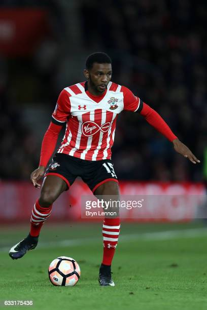 Cuco Martina of Southampton in action during The Emirates FA Cup Fourth Round match between Southampton and Arsenal at St Mary's Stadium on January...