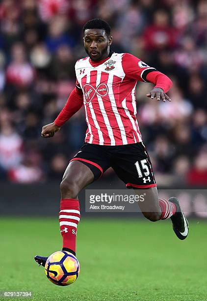 Cuco Martina of Southampton in action during the Premier League match between Southampton and Middlesbrough at St Mary's Stadium on December 11 2016...