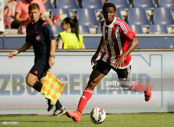 Cuco Martina of Southampton in action during the preseason semi final 2 match between Southampton FC and Valencia CF as part of the Audi Quattro Cup...
