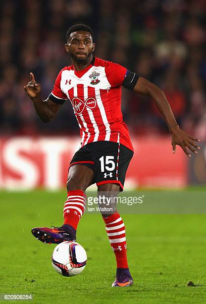 Cuco Martina of Southampton in action during the UEFA Europa League Group K match between Southampton FC and FC Internazionale Milano at St Mary's...