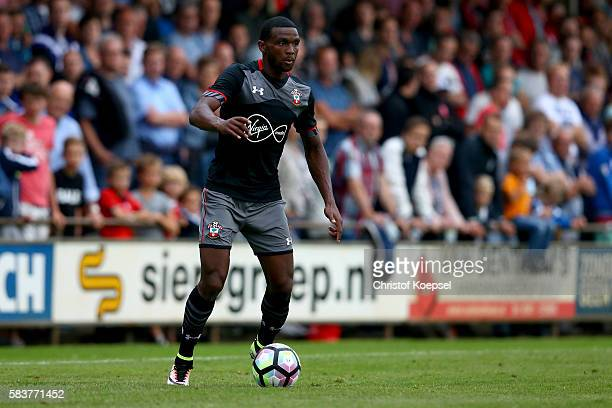 Cuco Martina of Southampton runs with the ball during the friendly match between Twente Enschede and FC Southampton at Q20 Stadium on July 27 2016 in...