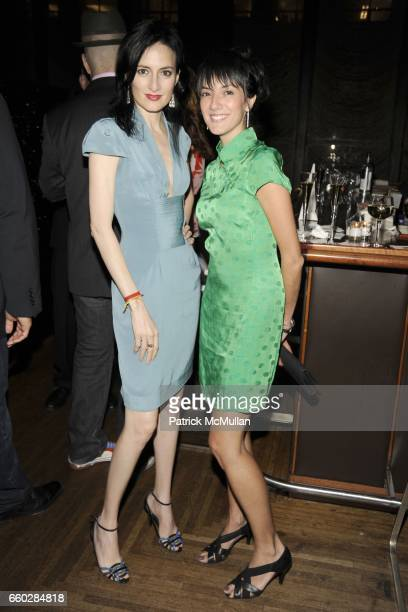 Cucu Diamantes and Erika Montoya attend ENRIQUE NORTEN Private Dinner Celebrating the 25th Anniversary of TEN ARQUITECTOS at The Four Seasons...
