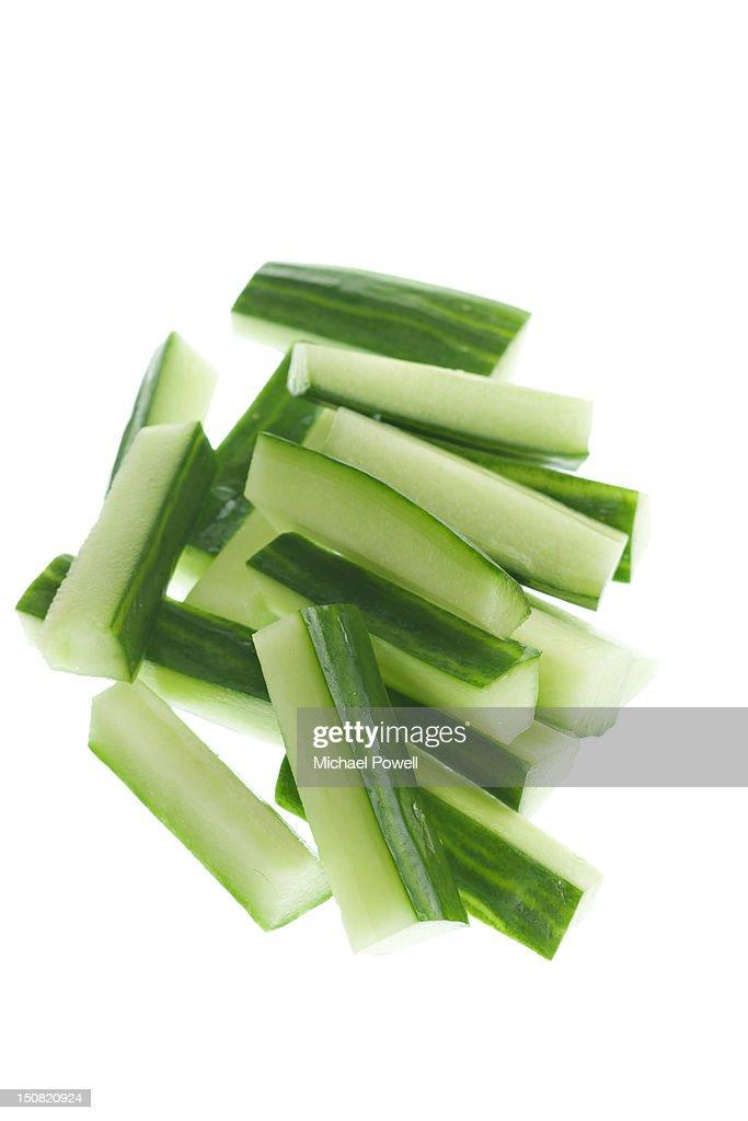Cucumber battons : Stock Photo