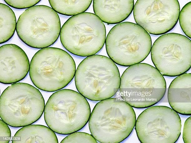 Cucumber clices