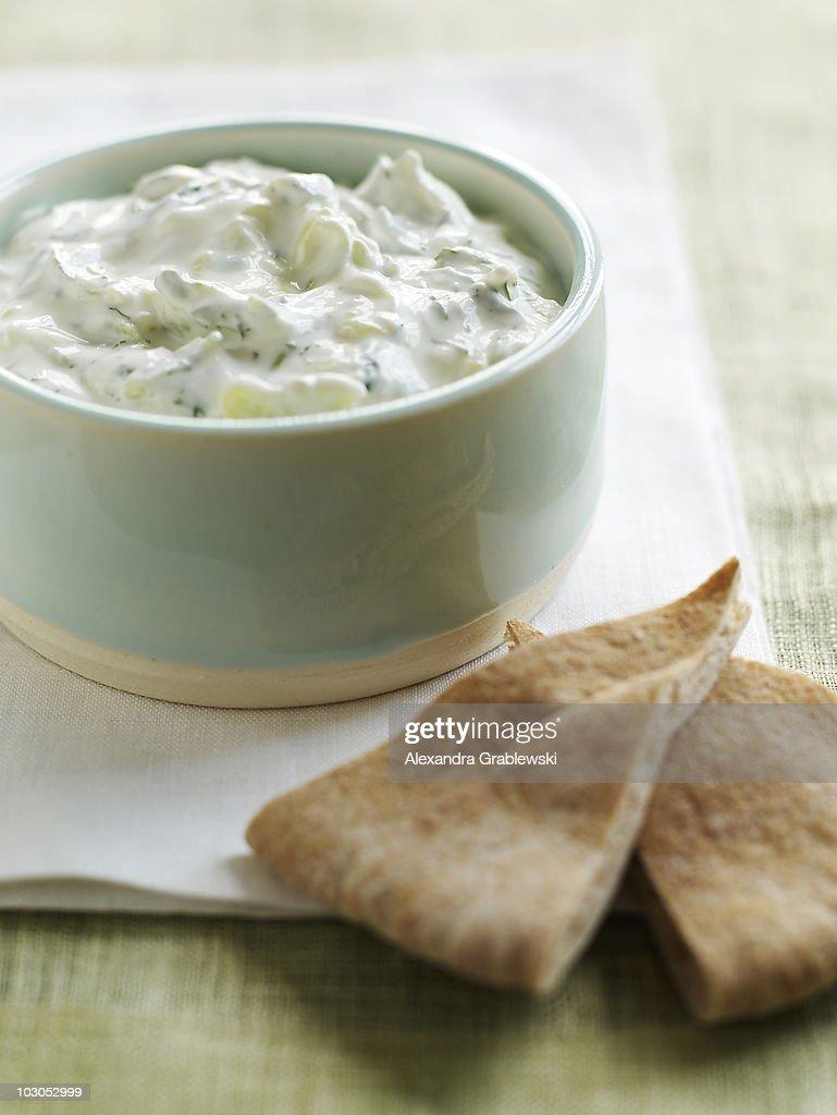 Cucumber Yogurt Dip