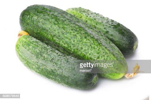 Cucumbers : Bildbanksbilder