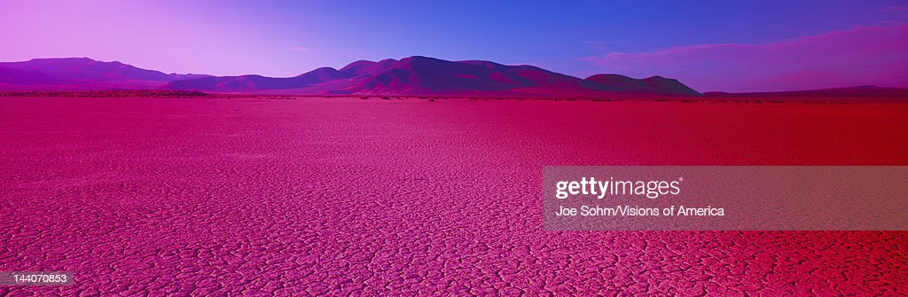 Cuddeback Dry Lake Mojave Desert California