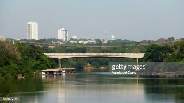 Cuiabá River and Mario Andreazza Bridge