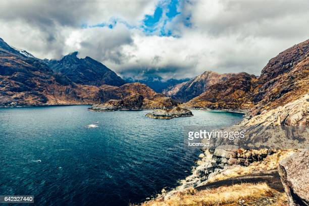 Cuillins of Skye, Scotland, from the rocky Coruisk coastline