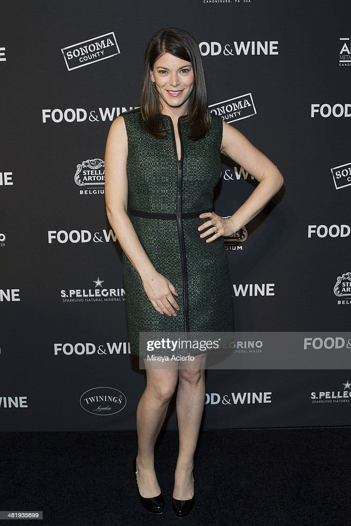 Culinary expert <a gi-track='captionPersonalityLinkClicked' href=/galleries/search?phrase=Gail+Simmons&family=editorial&specificpeople=4337508 ng-click='$event.stopPropagation()'>Gail Simmons</a> attends the 2014 FOOD & WINE Best New Chefs Party at Powerhouse at The American Museum of Natural History on April 1, 2014 in New York City.