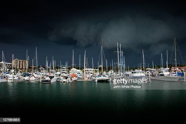Cullen Bay Marina. Darwin Australia.