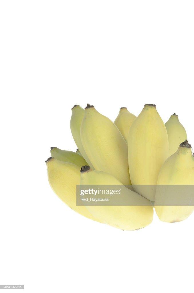 Cultivated banana ripe : Stock Photo