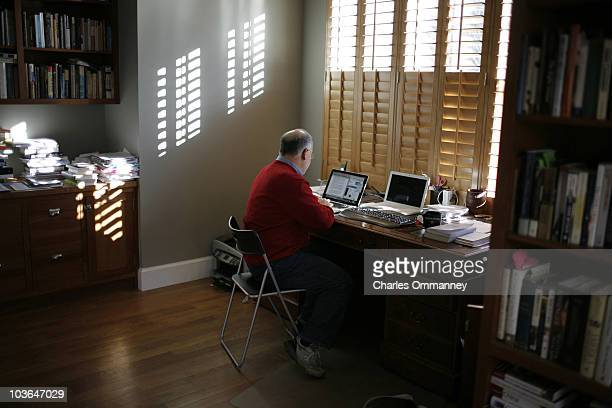 Cultural Commentator and Author David Brooks is photographed for Newsweek Magazine
