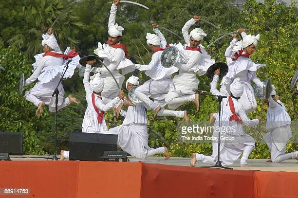 Cultural Programme at the ceremony to commemerate the 150th anniversary of the first Indian war of Independence in 1857 a bloody revolt which was...