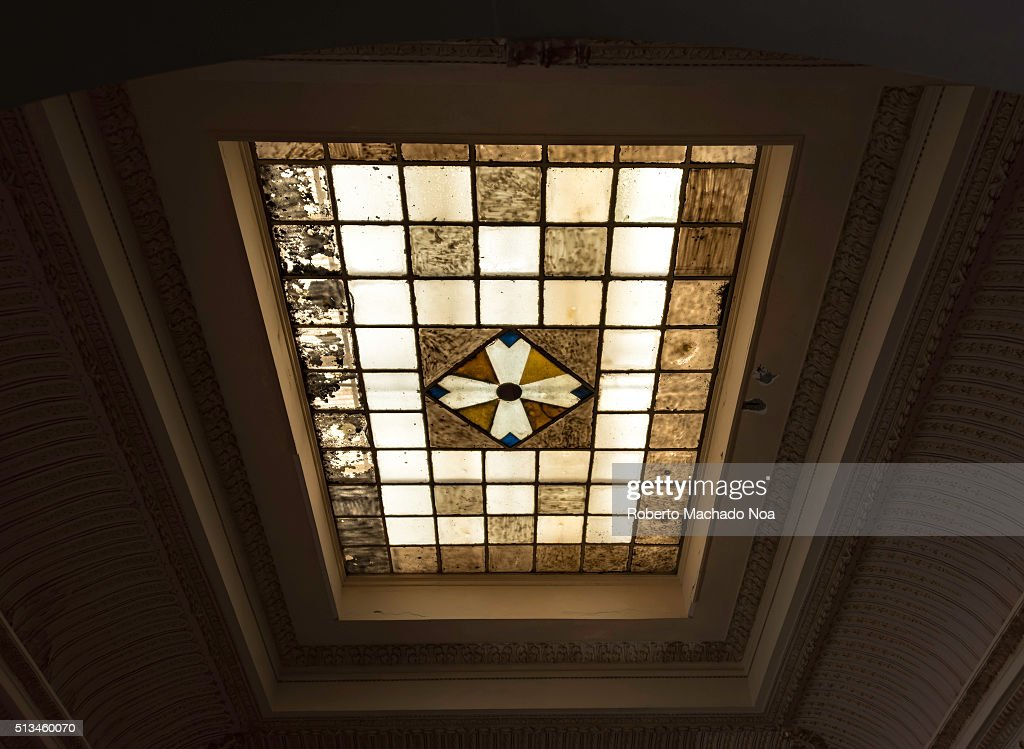 Skylight In Vintage Architectural Treasures Details