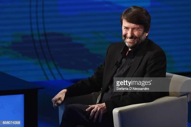 Culture Minister Dario Franceschini attends 'Che Tempo Che Fa' tv show on March 26 2017 in Milan Italy
