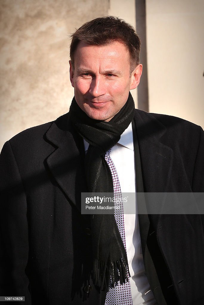 Culture Secretary Jeremy Hunt walks from Parliament on March 3, 2011 in London, England. The British government has given the go-ahead for Rupert Murdoch's News Corporation to takeover satellite broadcaster BSkyB. The deal has been allowed after News Corporation offered to spin off Sky News.
