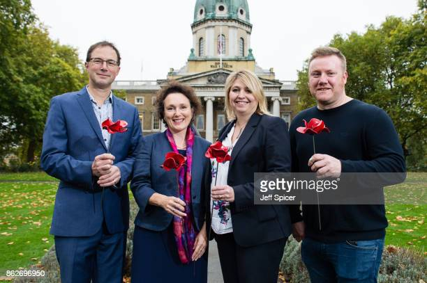 Culture Secretary Karen Bradley with designer Tom Piper Jenny Waldman and artist Paul Cummins announces the final venues chosen to host the iconic...